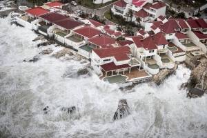 Huracán Irma, Caribe