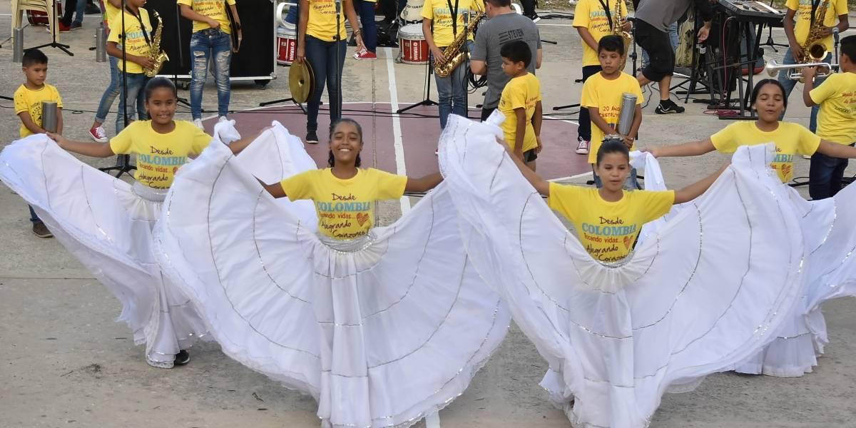 """La Banda de Baranoa le prepara una """"sorpresa musical"""" al papa Francisco en Cartagena"""