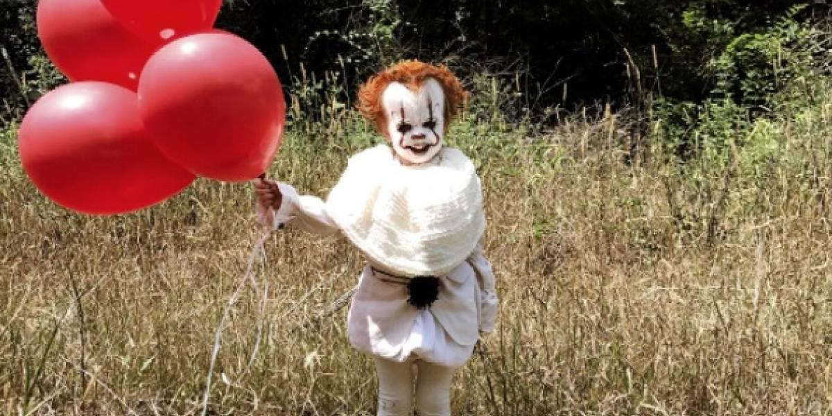El tierno niño de tres años que tiene atemorizado a Internet con su disfraz