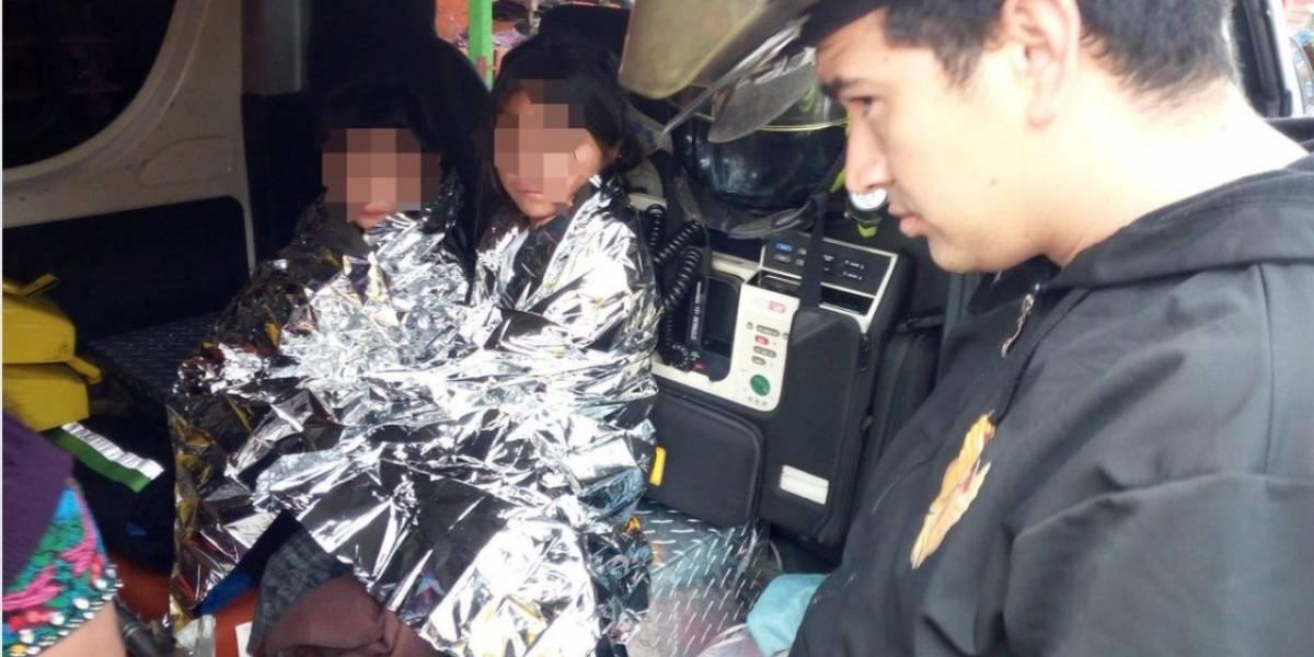 """Padres supuestamente """"bajo efectos de licor"""" abandonan a tres niños en La Terminal"""