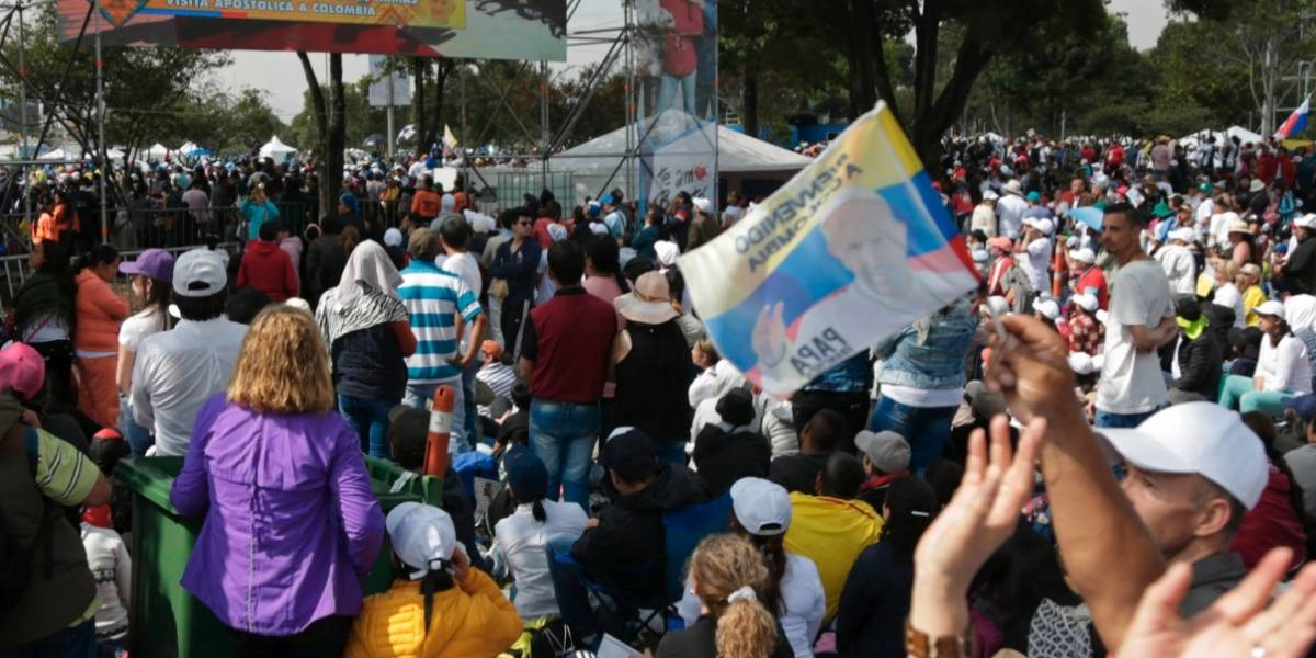 El lado 'B' de la visita del papa: se podrían generar casi 340 toneladas de basura en el Parque Simón Bolívar