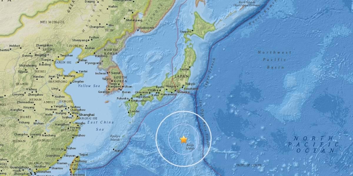 Sismo magnitud 6,1 se registra en islas Japón