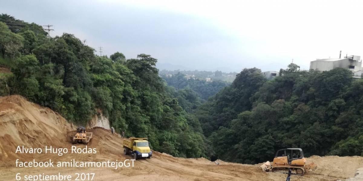 Habilitan carriles que permanecían cerrados por socavamiento en Boca del Monte