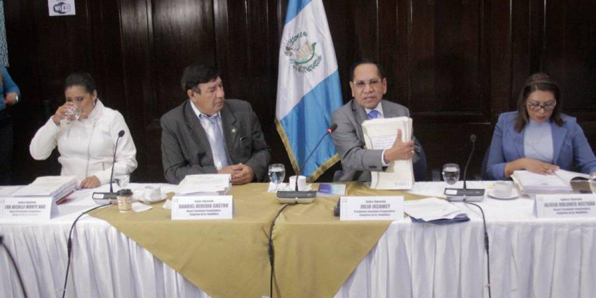 Por antejuicio de Morales, se declaran en sesión permanente