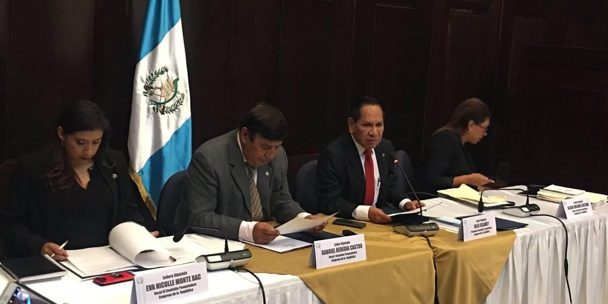 Pesquisidora cita para este viernes a Morales, al MP y a la CICIG para audiencias por antejuicio
