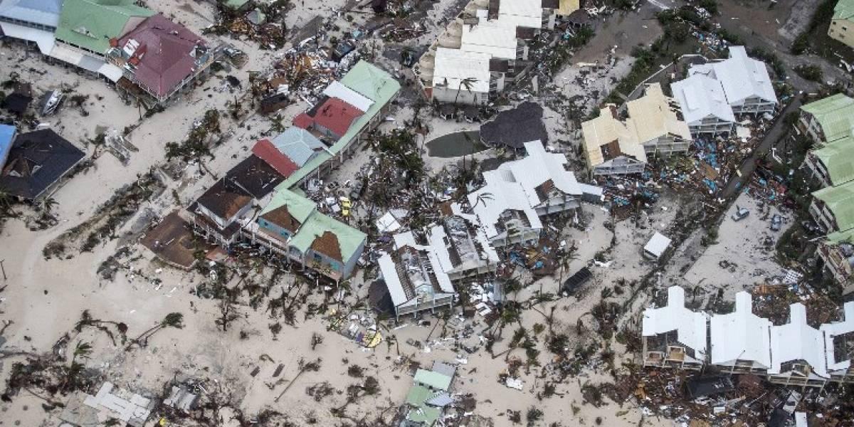 """Las fotos de la devastación tras el paso del """"monstruoso"""" huracán """"Irma"""" por las islas del Caribe"""