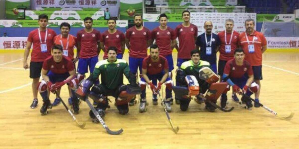 Hockey patín: Chile vendió cara su derrota en cuartos de los World Roller Games