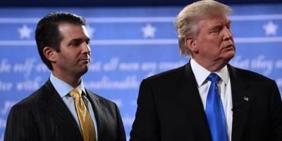 Hijo de Donald Trump, interrogado por caso de interferencia rusa