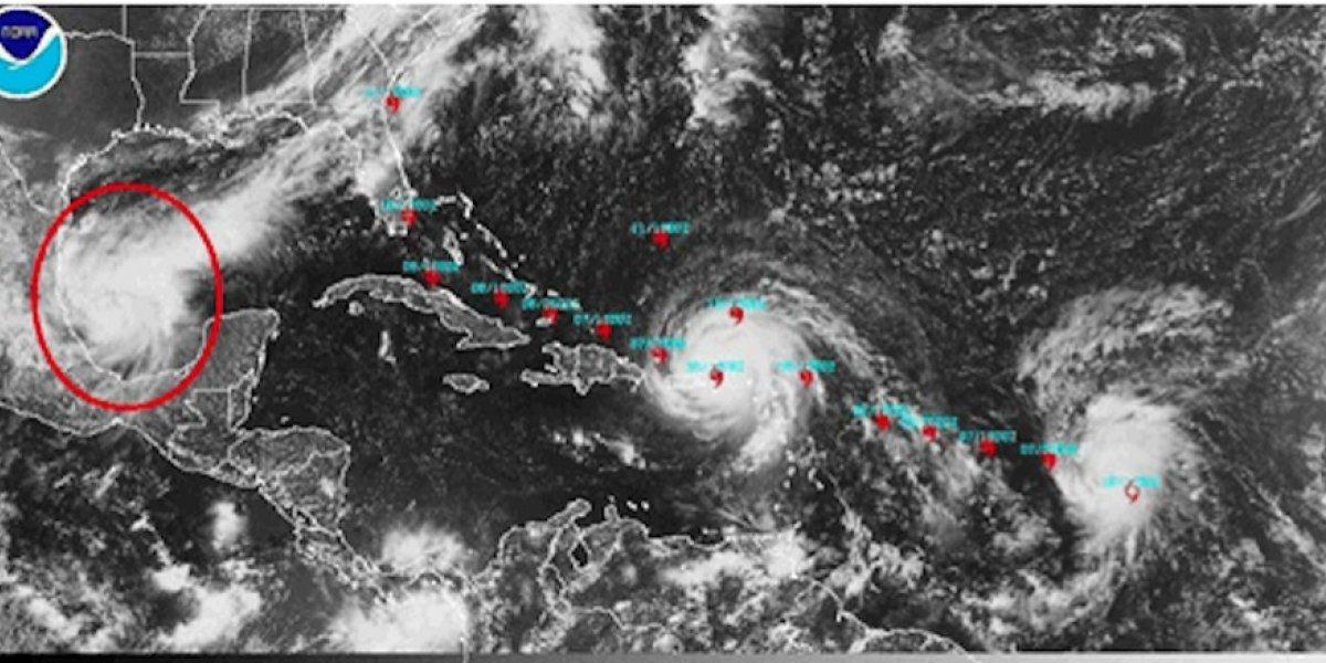 Huracanes en el Atlántico podrían generar incremento de lluvia en Guatemala