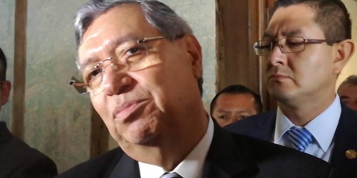 """Vicepresidente asegura que Aldana ha emitido juicios de valor y que señalamientos contra Morales son """"espurios"""""""
