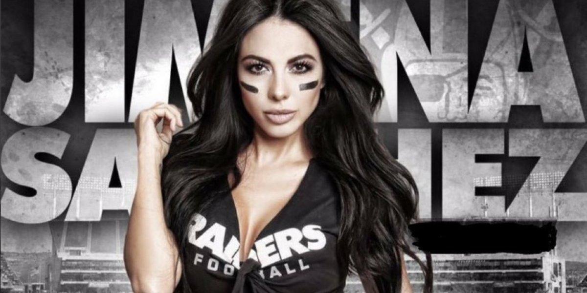 Jimena Sánchez le da la bienvenida a la NFL con sensuales fotografías
