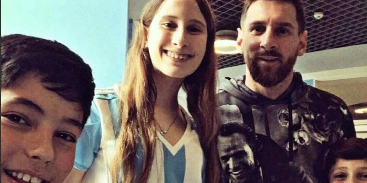 """La foto viral de Lionel Messi por la que aseguran que es """"dios"""""""