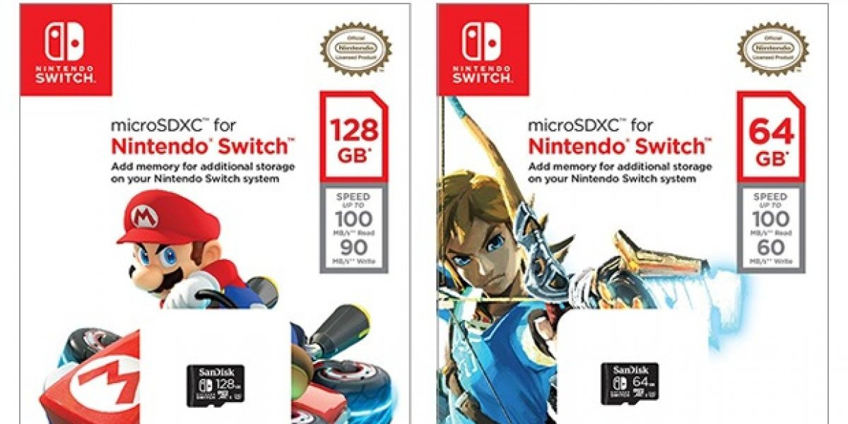 Saldrán a la venta microSD exclusivas de Nintendo