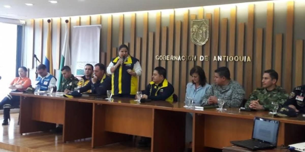 Quedó instalada la Sala de Crisis Departamental en Antioquia