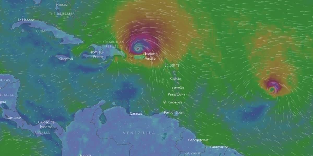 Huracán Irma deja más de 5.500 evacuados en R. Dominicana