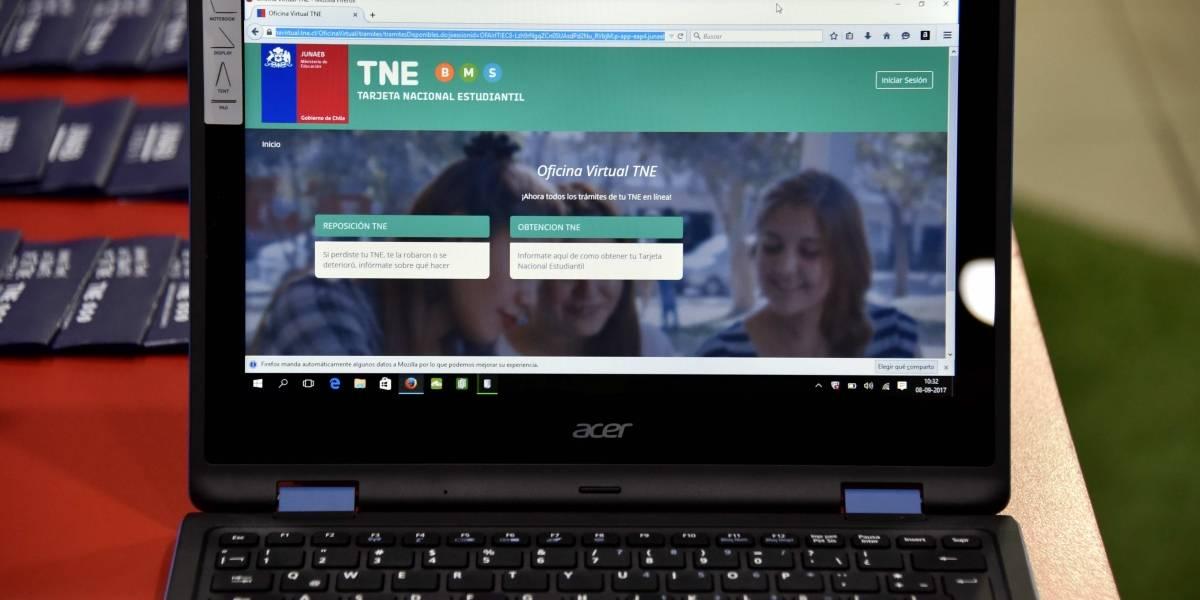 ¿Se te perdió el pase? No más filas: lanzan oficina virtual de la Junaeb para la TNE
