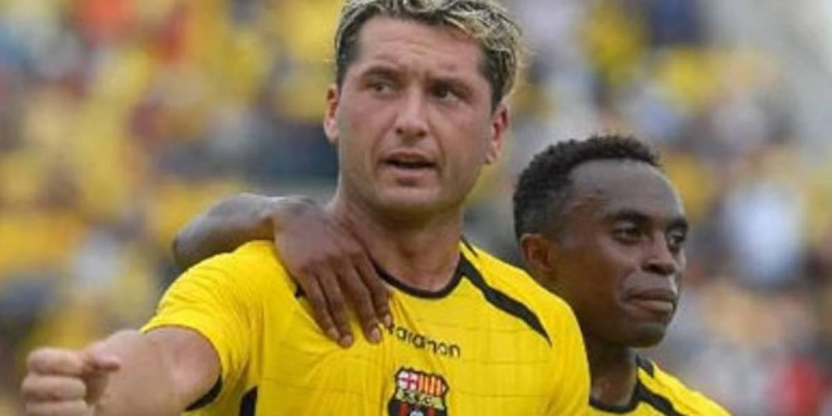 Rolando Zárate reconoce el pago de Barcelona SC