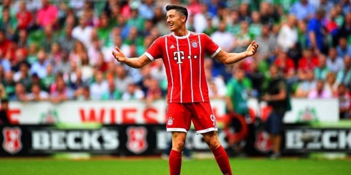 Lewandowski golpea la mesa y hace una fuerte advertencia al Bayern de Vidal