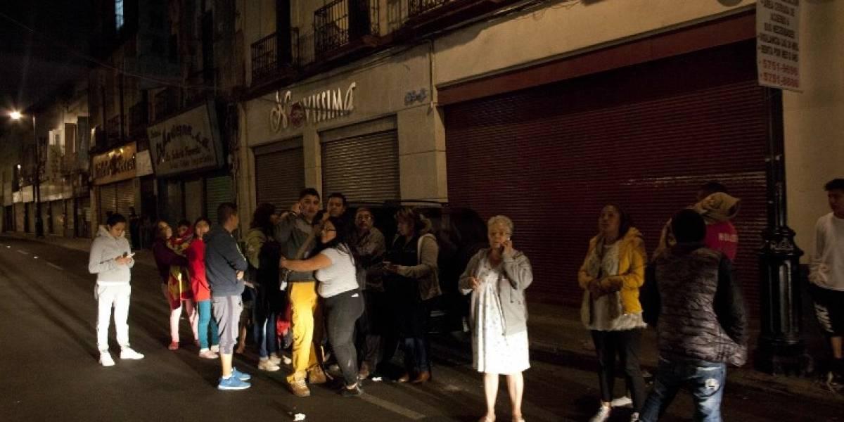 """Una chilena en el terremoto de México: """"Mucha gente entró en pánico"""""""
