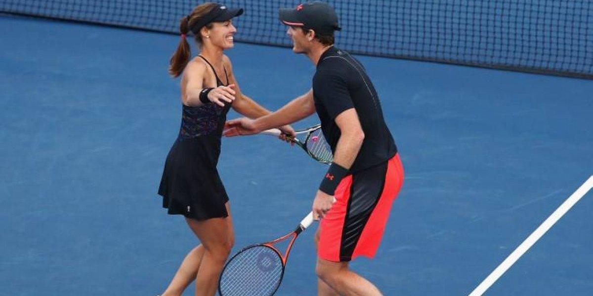 Como el vino: Martina Hingis arrasa en Nueva York y pasa a dos finales de dobles en el US Open