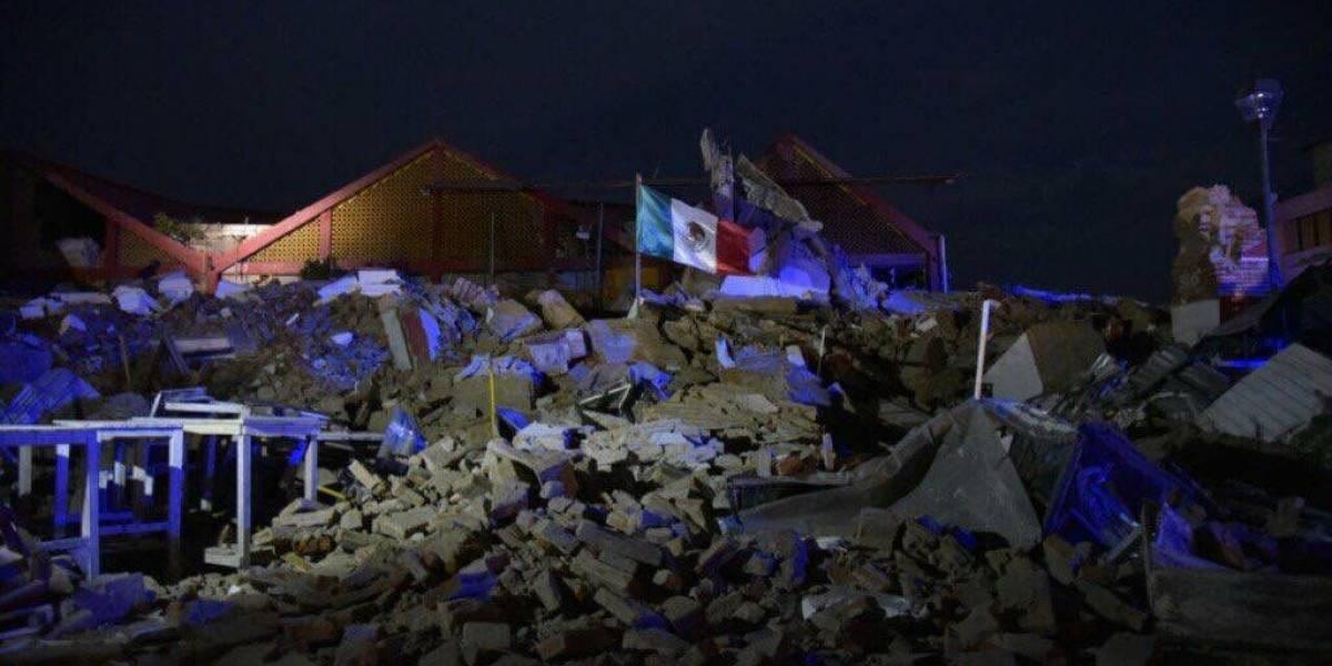 Las primeras imágenes del poderoso terremoto de 8,1 que sacudió a México y sintieron más de 50 millones de personas