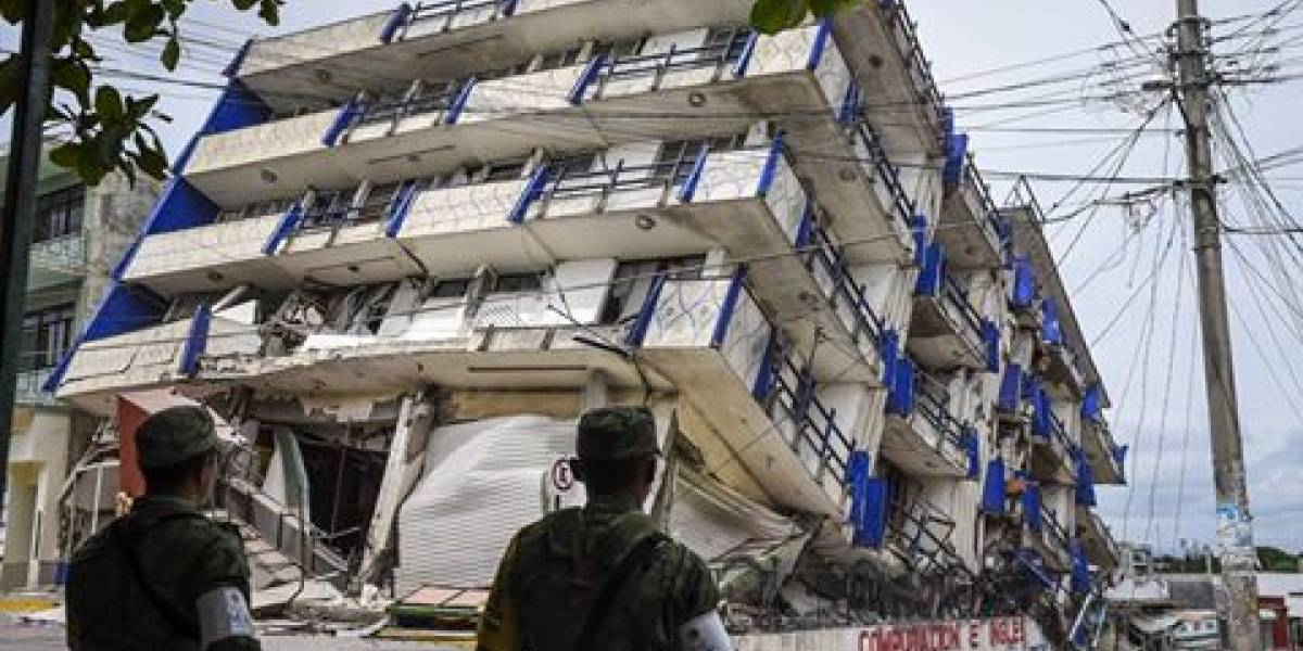 Al menos 58 muertos: Las peores imágenes que dejó el terremoto en México