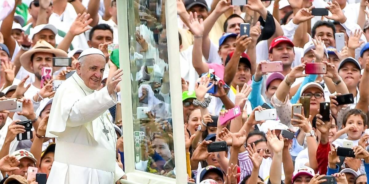 Visita del papa Francisco en Medellín podría afectarse por la lluvia