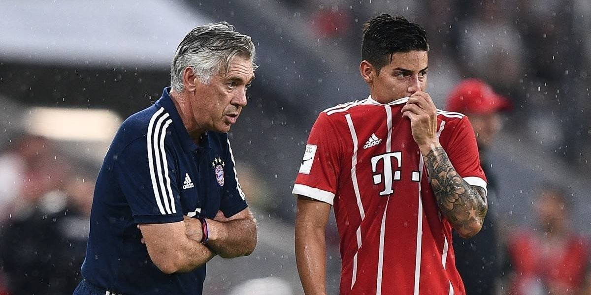 Expectativa en Alemania por el debut de James en la Bundesliga
