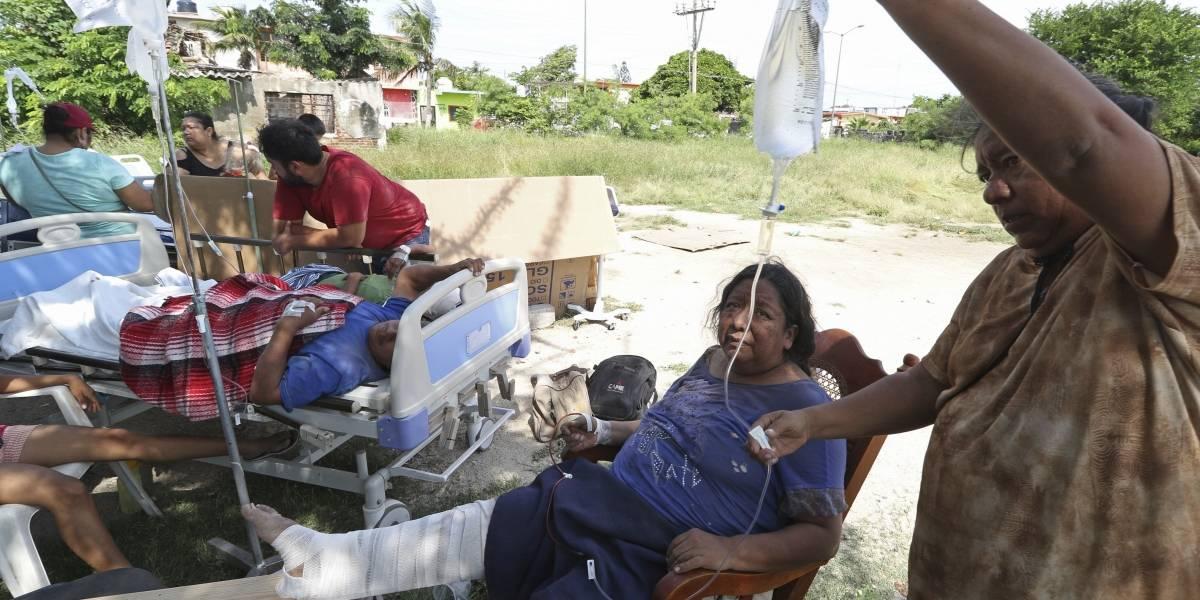 Juchitán, el pueblo más herido por el poderoso sismo que cimbró a México