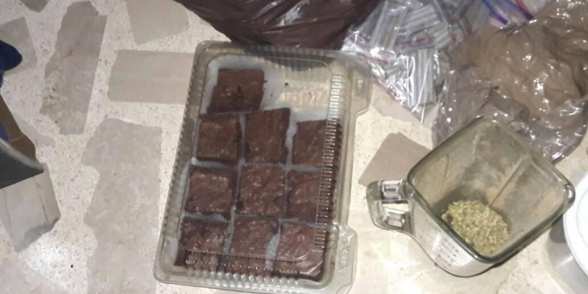 Cae banda dedicaba a fabricar brownies de marihuana en exclusivo sector