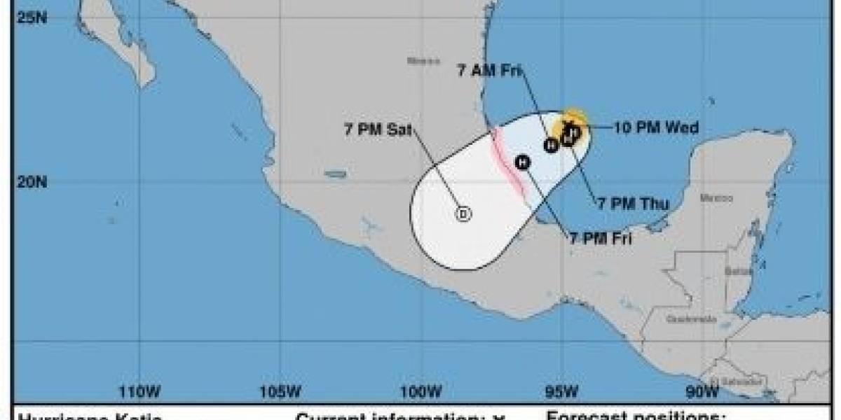 Tras el intenso terremoto México se prepara para ser golpeado por el huracán Katia