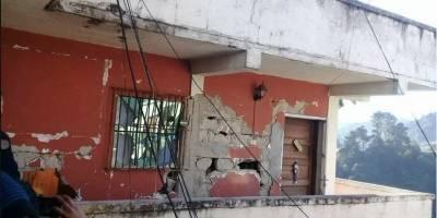 Reporta Guatemala sólo daños materiales por el terremoto de 8.2