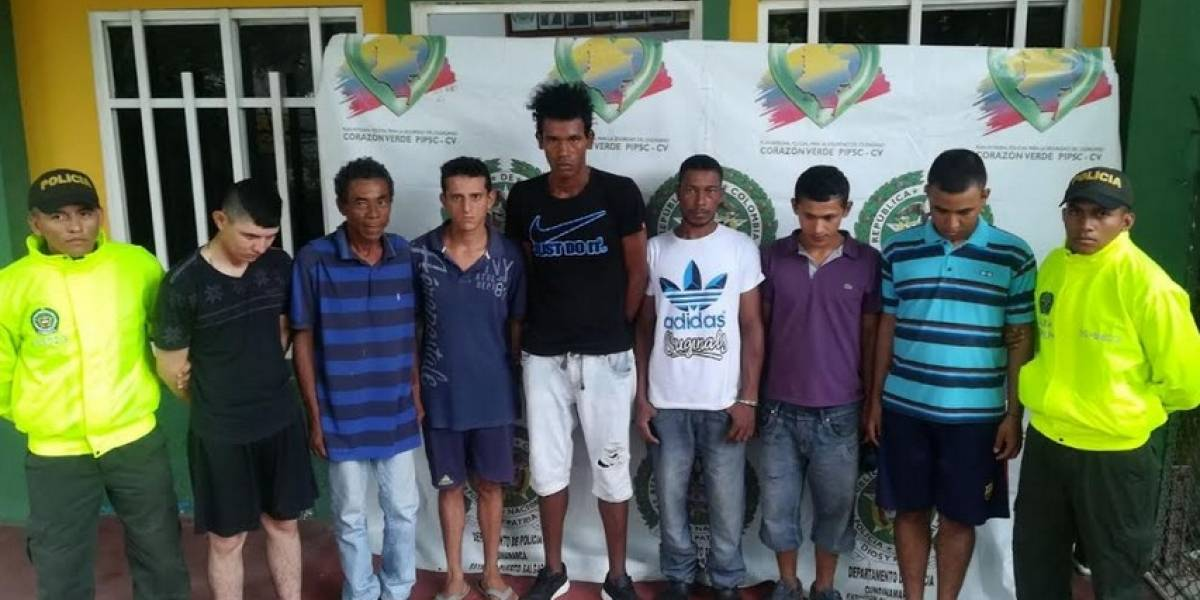 Banda dedicada a comercializar estupefacientes en Cundinamarca fue enviada a prisión