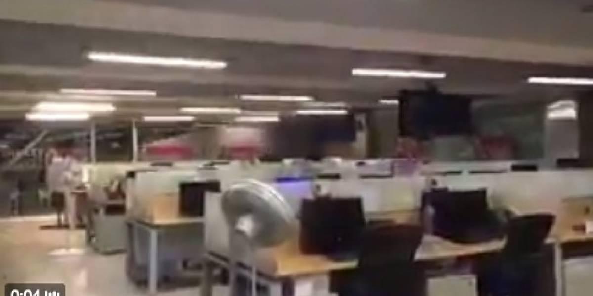 ¡Terrorífico! En videos quedó registrado el terremoto en México