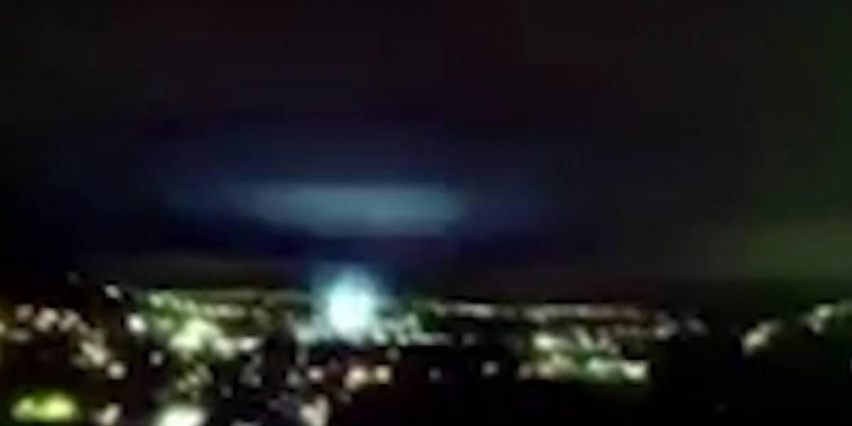 Por esta razón se vieron luces durante el sismo en México