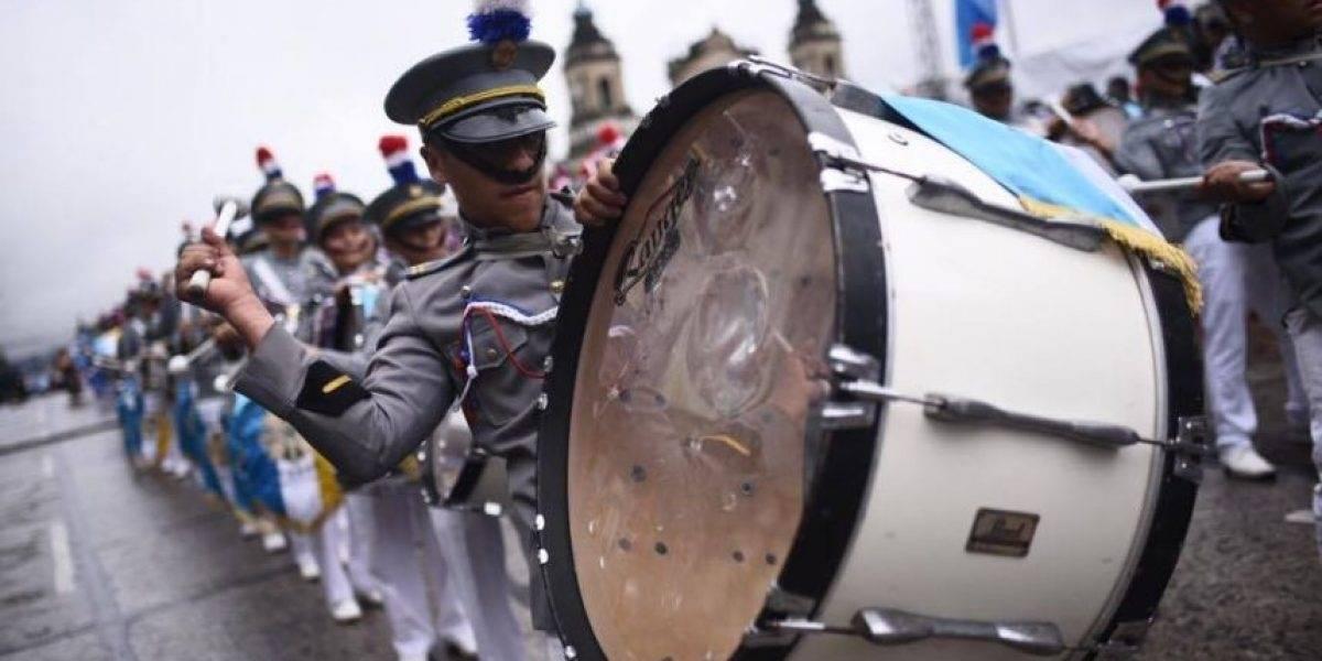 Casi 30 desfiles de Independencia recorrerán este jueves la Ciudad de Guatemala