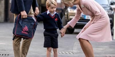 Mulher invade escola do príncipe George