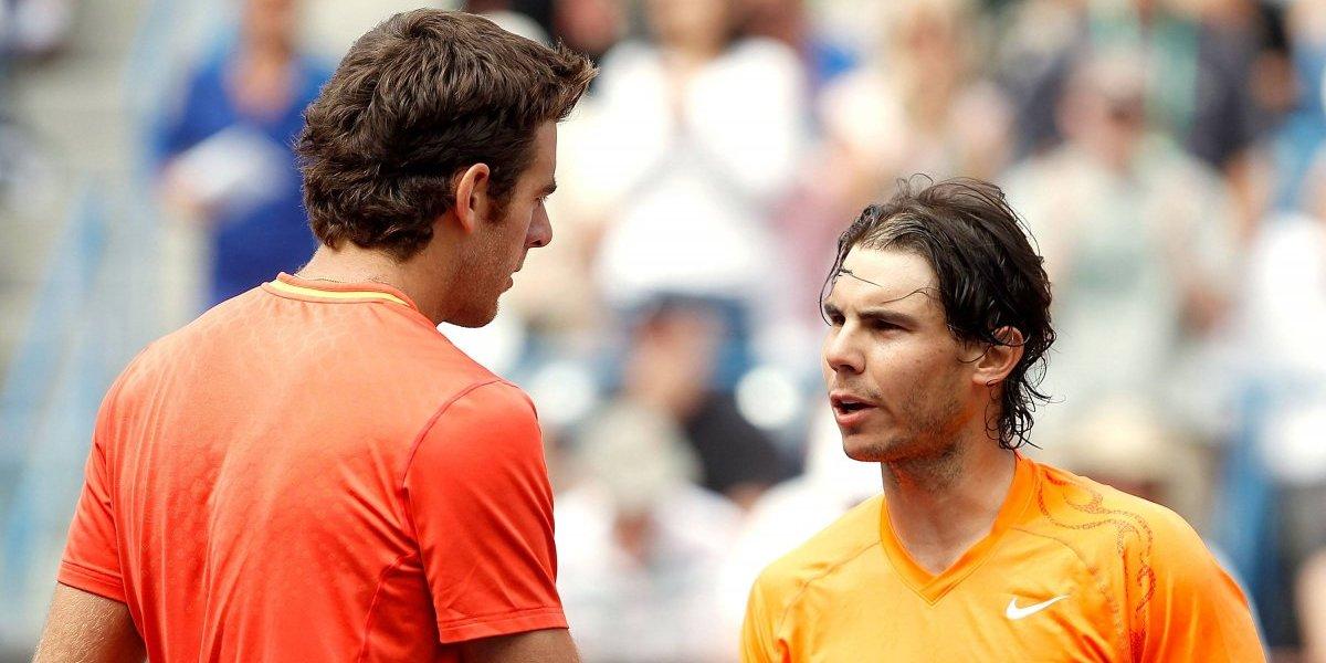 Rafael Nadal y Juan Martín Del Potro encienden el US Open con una tremenda semifinal