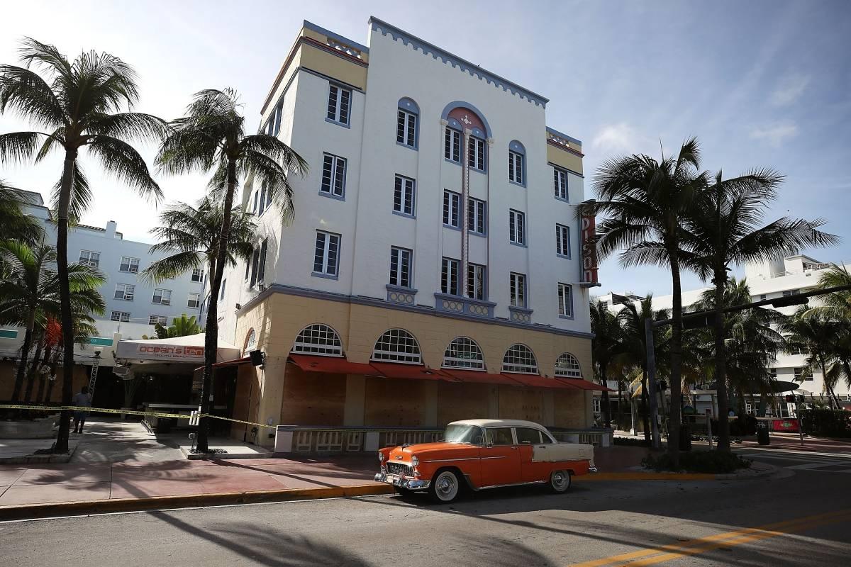 Miami evacuación