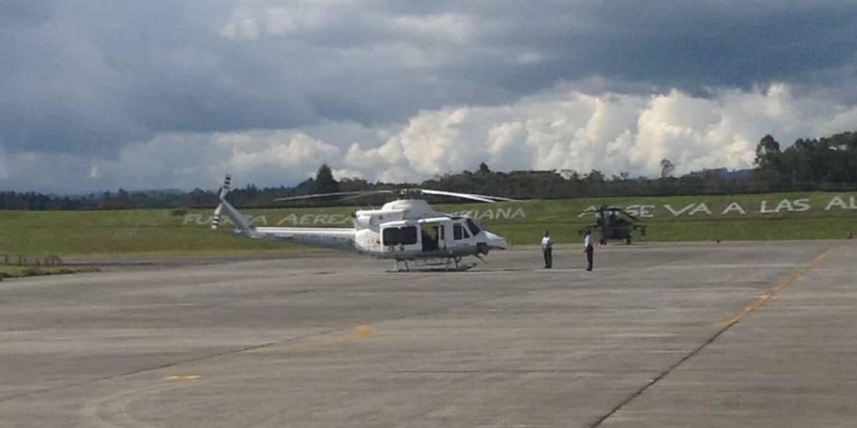 Fuerza Aérea sigue buscando helicóptero del que perdió rastro en Colombia