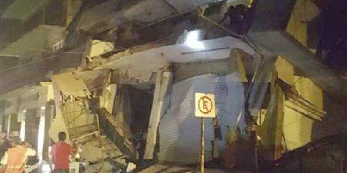 Las redes sociales se llenan de videos que muestran los efectos del terremoto 8,1 en México