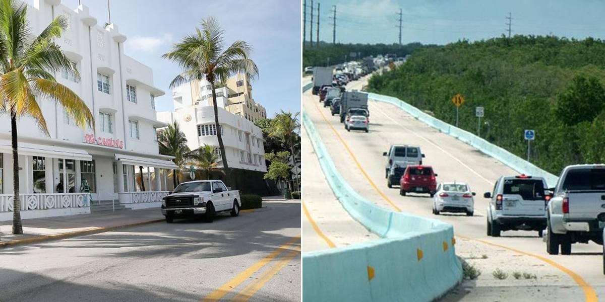 Huracán Irma: evacuación convierte a Miami en una ciudad fantasma