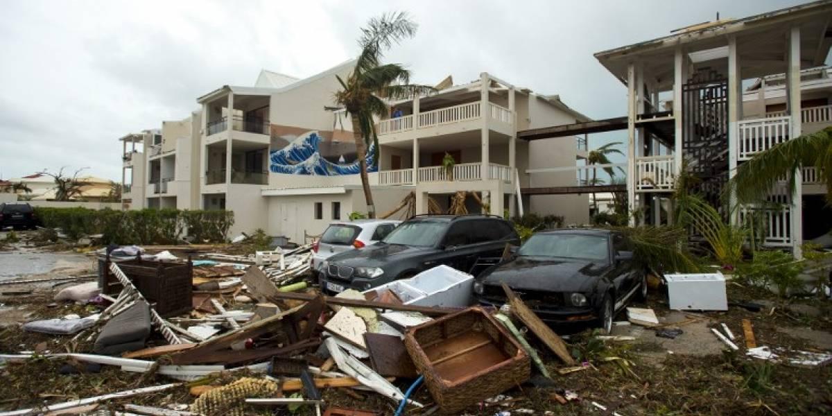 """""""La situación es grave"""": saqueos y tensión en isla de San Martin tras paso de huracán Irma"""