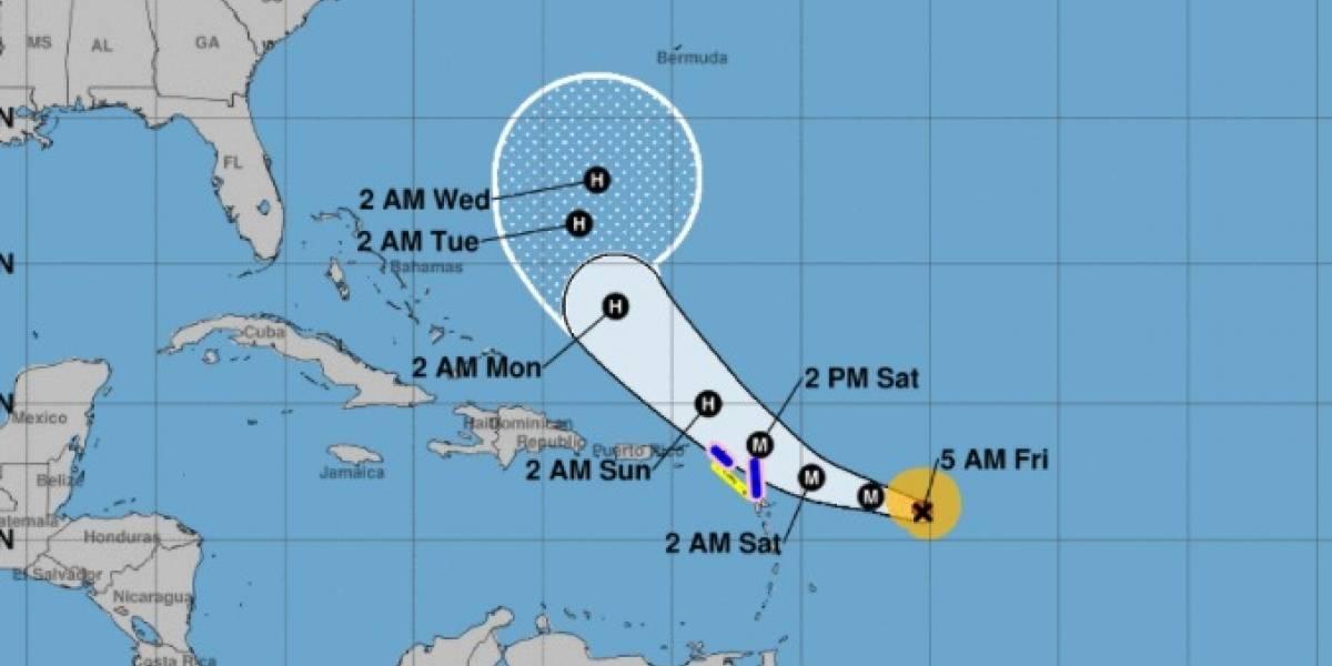 Huracán José sube a categoría 3 con vientos de 125 mph