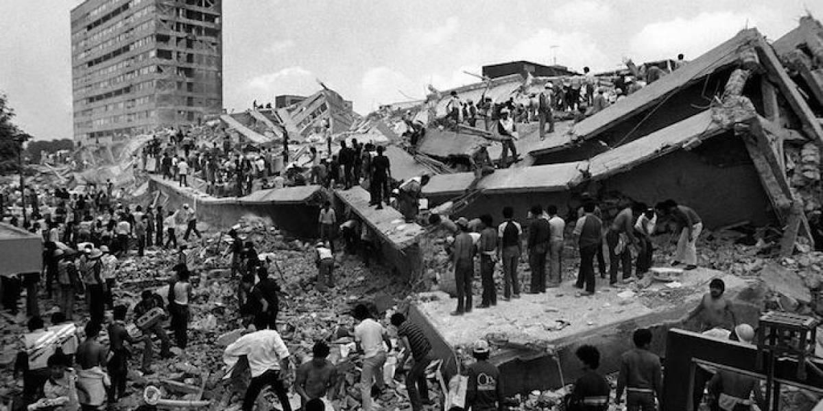 El terremoto 8,1 de México que sacude el recuerdo del destructivo sismo de 1985
