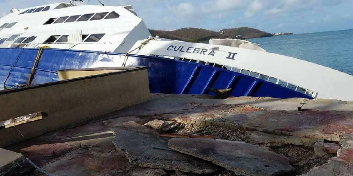 Pérdida total la lancha Culebra II al sufrir daños en Saint Thomas