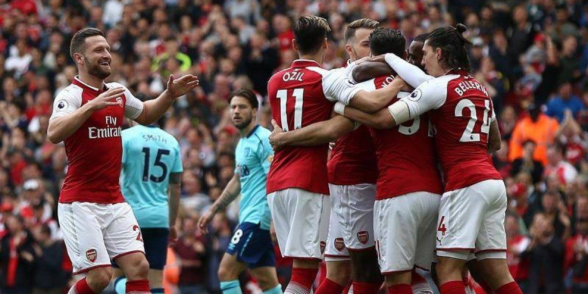 Así vivimos el claro triunfo del Arsenal ante Bournemouth con Alexis Sánchez