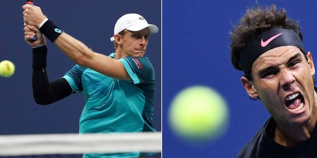 Nadal y Anderson: final desigual en el US Open