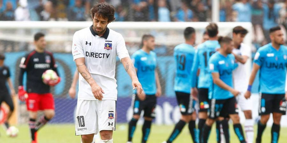 """Valdivia y la amarilla que lo deja suspendido en Colo Colo: """"Es una estupidez de Gamboa"""""""
