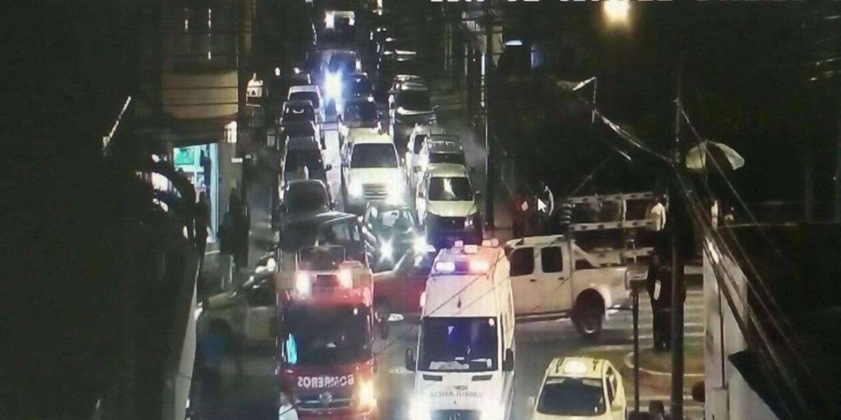 Atropellamiento múltiple en Ibarra dejó cinco heridos
